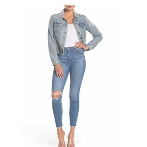 GRLFRND Kendall Stretch High Rise Skinny Jeans 28